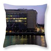 Berlin 360 Grad  Throw Pillow by Juergen Held