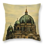 Berlin Architecture Throw Pillow