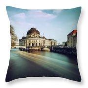 Berlin Bode Museum Throw Pillow