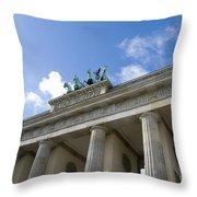 Berlin Brandenburger Tor Throw Pillow