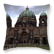 Berlin Dom Throw Pillow