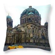Berlin Dome Throw Pillow