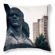 Berlin - Ernst-thaelmann-park Throw Pillow