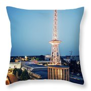 Berlin - Funkturm Throw Pillow