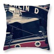 Berlin - Historischer Hafen Throw Pillow