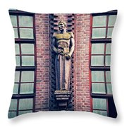 Berlin - Industrial Architecture Throw Pillow
