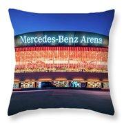 Berlin - Mercedes-benz Arena Throw Pillow