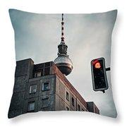 Berlin-mitte Throw Pillow