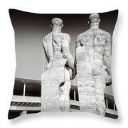 Berlin Olympiastadion - Berlin Olympic Stadium Throw Pillow