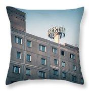 Berlin - Plattenbau Throw Pillow