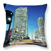 Berlin - Potsdamer Platz Throw Pillow