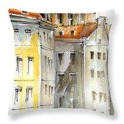 Berlin Site View Throw Pillow