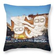 Berlin - Street Art Throw Pillow