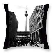 Berlin Street Photography Throw Pillow by Falko Follert
