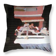 Bermuda Carriage Impressions Throw Pillow