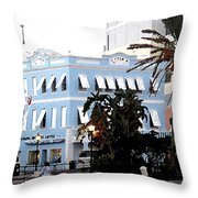 Bermuda Front Street Three Throw Pillow