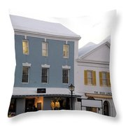 Bermuda Front Street Two Throw Pillow