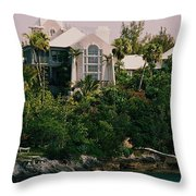 Bermuda Mansion Vision # 4 Throw Pillow