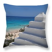 Bermuda Rooftop Throw Pillow