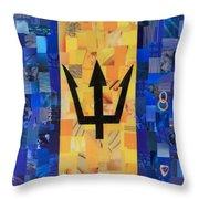 Bermudas Flag Throw Pillow