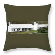 Bermudian Centuries Old Cottage  Throw Pillow