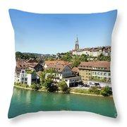 Bern, Switzerland Capital City Throw Pillow