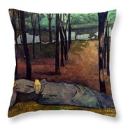 Bernard: Madeleine, 1888 Throw Pillow