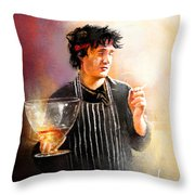 Bernards Brandy Throw Pillow