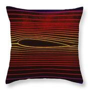 Bernoulli Principle Throw Pillow