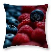 Berries Throw Pillow