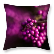 Berries Still Life Throw Pillow