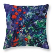 Berry Garden Pie 2 Throw Pillow