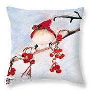 Berry Good Throw Pillow