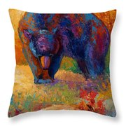 Berry Hunting Throw Pillow