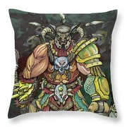 Berserker  Throw Pillow