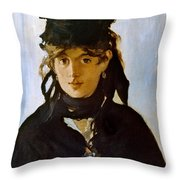 Berthe Morisot (1841-1895) Throw Pillow