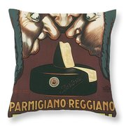 Bertozzi Poster Throw Pillow