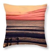 Beside Still Waters - Digital Paint Effect Throw Pillow