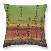 Beside Still Waters Throw Pillow