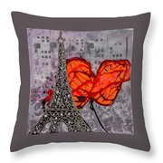 Beside You All The Way Throw Pillow
