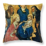 Besozzo: St. Catherine Throw Pillow