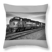 Bessemer And Lake Erie F7s Throw Pillow