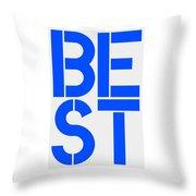Best-2 Throw Pillow