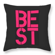 Best-5 Throw Pillow
