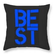 Best-7 Throw Pillow