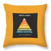 Best Digital Marketing Institute In Ameerpet Hyderabad Throw Pillow