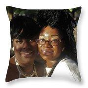Best Friends 2  Throw Pillow