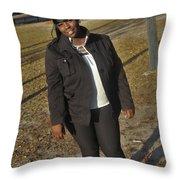 Best Friends 4 Throw Pillow