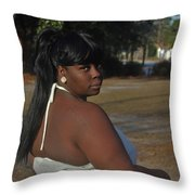 Best Friends 6 Throw Pillow