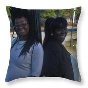 Best Friends 8 Throw Pillow